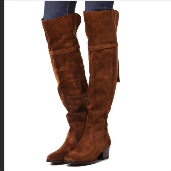 3224102476c Frye Clara Tassel Over The Knee Boots
